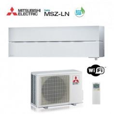 CLIMATIZZATORE CONDIZIONATORE MITSUBISHI ELECTRIC INVERTER SERIE LN MSZ-LN25VGW WI-FI GAS R-32 A+++ 9000 BTU - MODELLO 2017