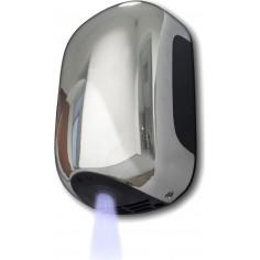 ASCIUGAMANI ELETTRICO DA PARETE POTENZA 900 Watt 15,6x10x23,8h cm COLORE CROMO Mod. SMART JET