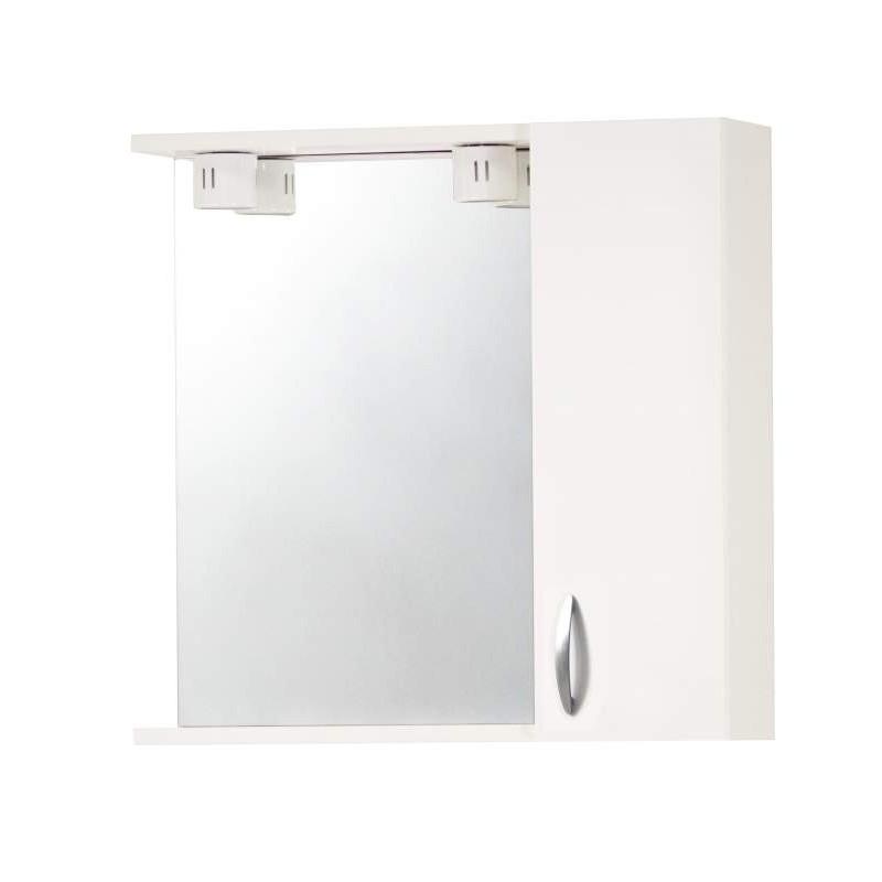 Specchio da bagno con anta di colore bianco cod 94136 - Bagno di colore ...