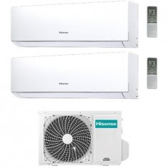 Climatizzatore Condizionatore Hisense Dual Split 7+7 Modello New Comfort 7000+7000 Btu 2amw42u4rra R32 Classe A++ Wi Fi Ready