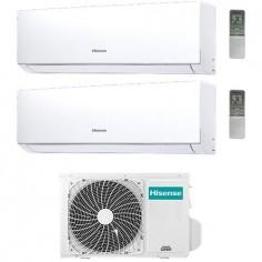 Climatizzatore Condizionatore Hisense Dual 7+12 Mod. New Comfort 7000+12000 Btu 2amw42u4rra R32 Classe A++ Wi Fi Optional