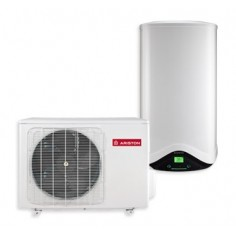 Scaldabagno A Pompa Di Calore Ariston Nuos Split A+ 80 Wh Con Accumulo 80 Lt Erp-new Model