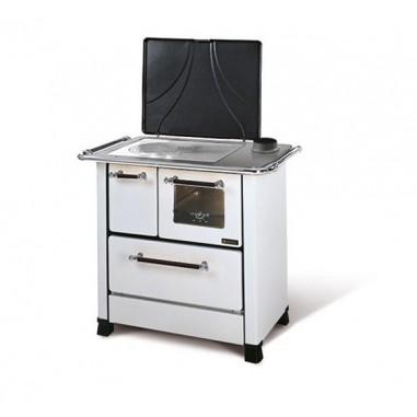Cucina a legna la nordica extraflame modello romantica 4 5 1 2 colore bianca dx cod 19611 - Termostufe a legna nordica ...