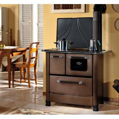 Cucina A Legna La Nordica.Cucina A Legna La Nordica Extraflame Modello Romantica 4 5 1 2 Colore Rustic Rame Dx Cod 47427