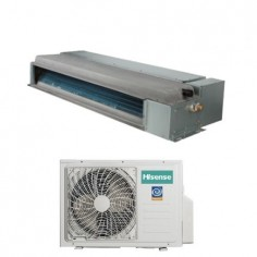 Climatizzatore Condizionatore Hisense Canalizzabile Inverter Modello Aud71ux4sll3 Con Potenza Da 24000 Btu In Classe A++