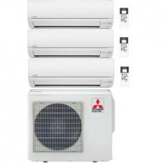 Climatizzatore Condizionatore Mitsubishi Electric Trial Split 9+9+12 Inverter Serie Dm 9000+9000+12000 Btu Con Mxz-3dm50va