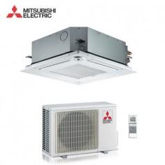 CLIMATIZZATORE CONDIZIONATORE MITSUBISHI ELECTRIC INVERTER A CASSETTA SERIE SLZ-KF35VA2 A++ 12000 BTU