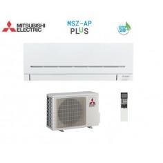 CLIMATIZZATORE CONDIZIONATORE MITSUBISHI ELECTRIC INVERTER SERIE PLIS MSZ-AP DA 9000 BTU IN CLASSE A+++ WI FI GAS R32